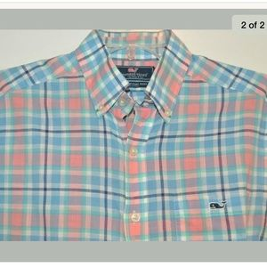 VINEYARD VINES Slim Fit Tucker Shirt S
